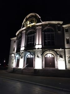 Tonhalle by Night