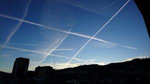 Himmel über St.Gallen
